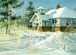 "image "" Fresh Snow "" by charles l peterson"